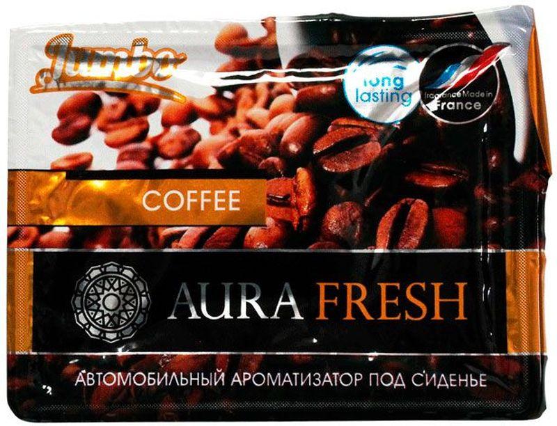 Ароматизатор автомобильный Aura Fresh Jumbo. Coffee, под сиденье автомобильный ароматизатор doctor wax новая машина dw0807 под сиденье