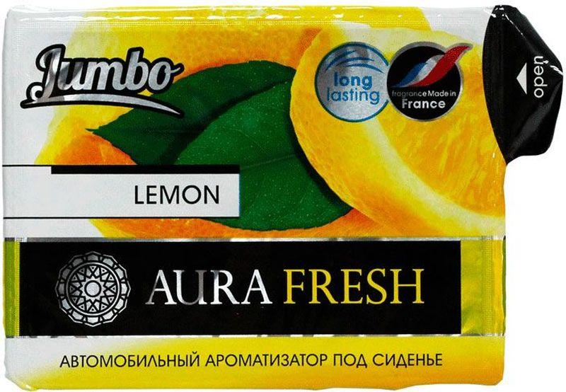 Ароматизатор автомобильный Aura Fresh Jumbo. Lemon, под сиденье ароматизатор автомобильный paloma happy bag lemon