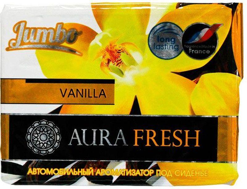 Ароматизатор автомобильный Aura Fresh Jumbo. Vanilla, под сиденье автомобильный ароматизатор doctor wax новая машина dw0807 под сиденье