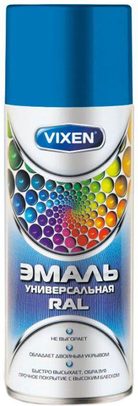 Эмаль универсальная Vixen, аэрозоль, цвет: светло-голубой, 520 мл. 15015 the vixen