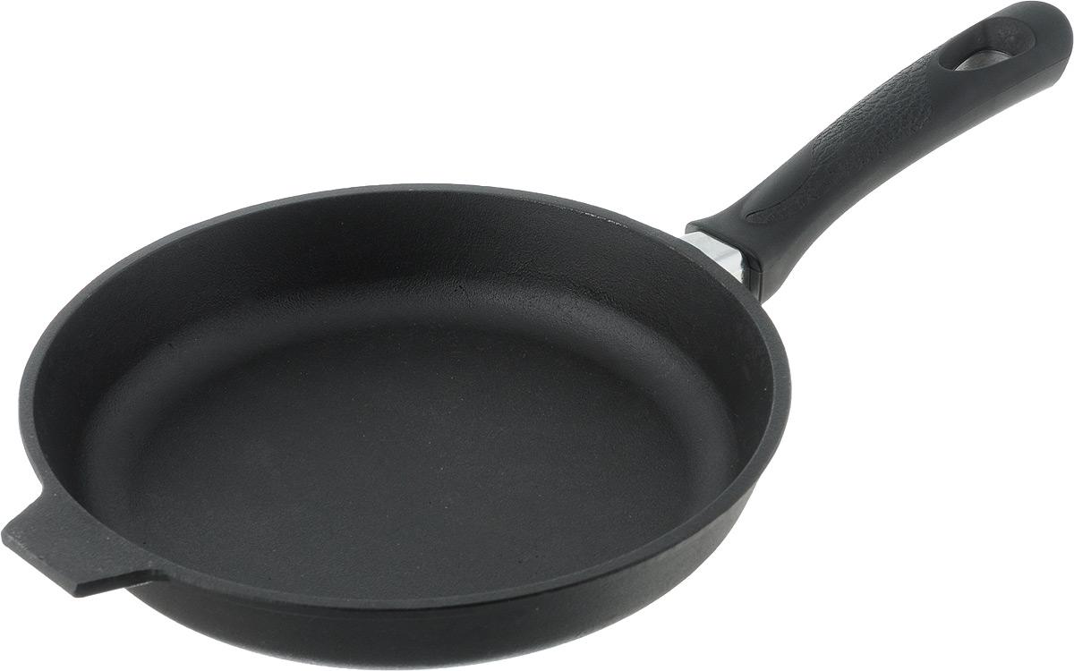 Сковорода чугунная Добрыня. Диаметр 24 см сковорода чугунная добрыня диаметр 22 см do 3311