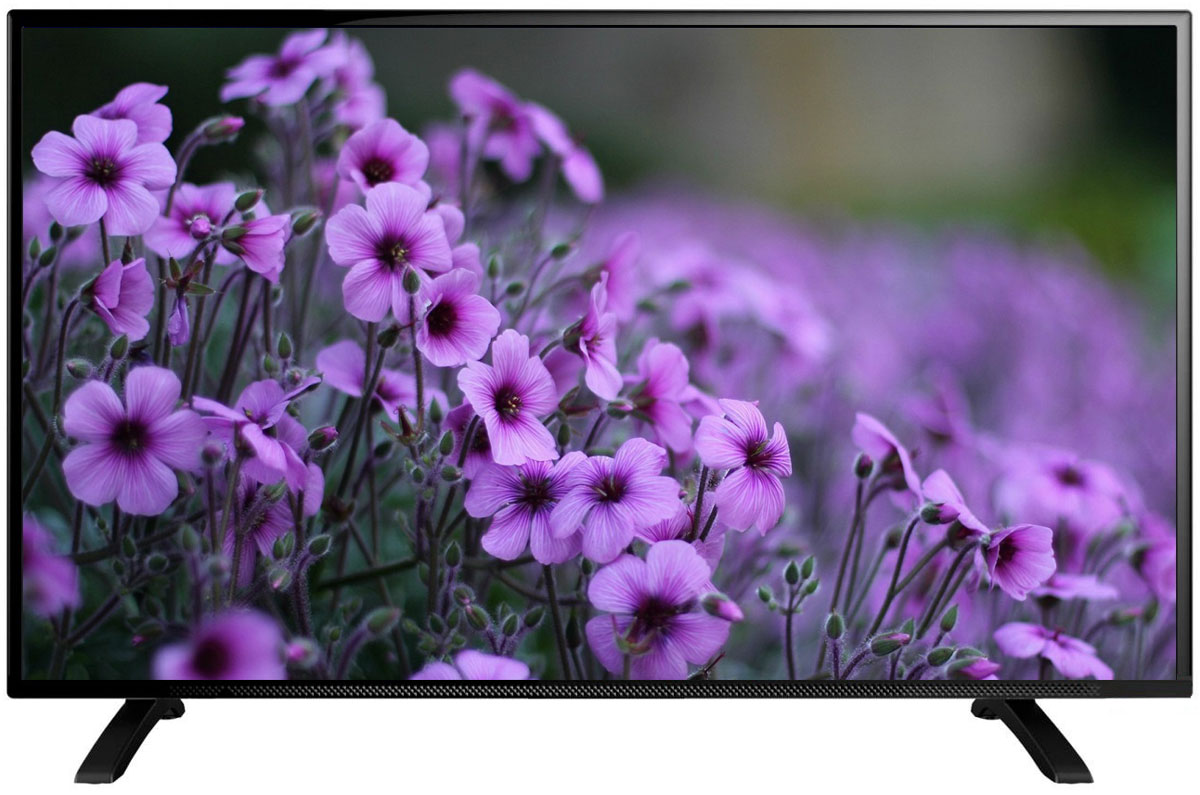 Телевизор Erisson 58 LES 76 T2 58, черный цена