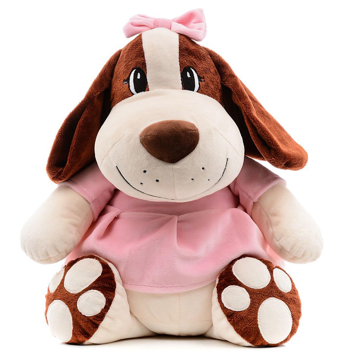 СмолТойс Мягкая игрушка Собачка Сонечка 47 см