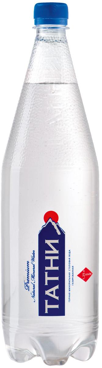 Татни вода минеральная газированная, 1,25 л