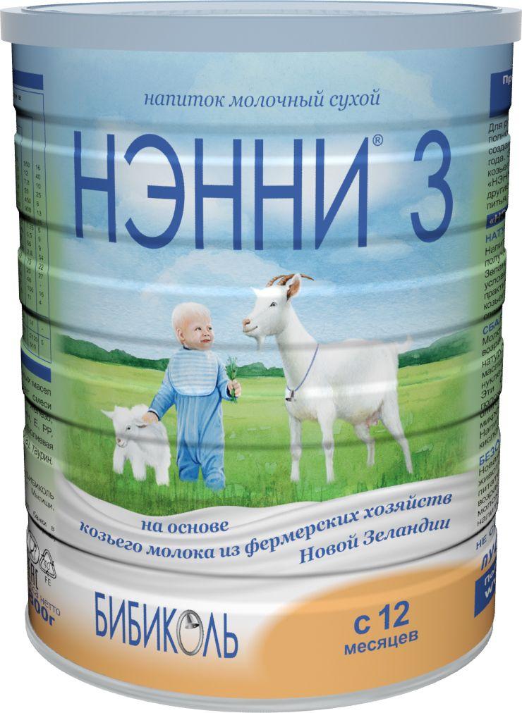 Нэнни 3 молочный напиток на основе козьего молока, с 12 месяцев, 800 г нэнни 3 молочный напиток на основе козьего молока с 12 месяцев 400 г