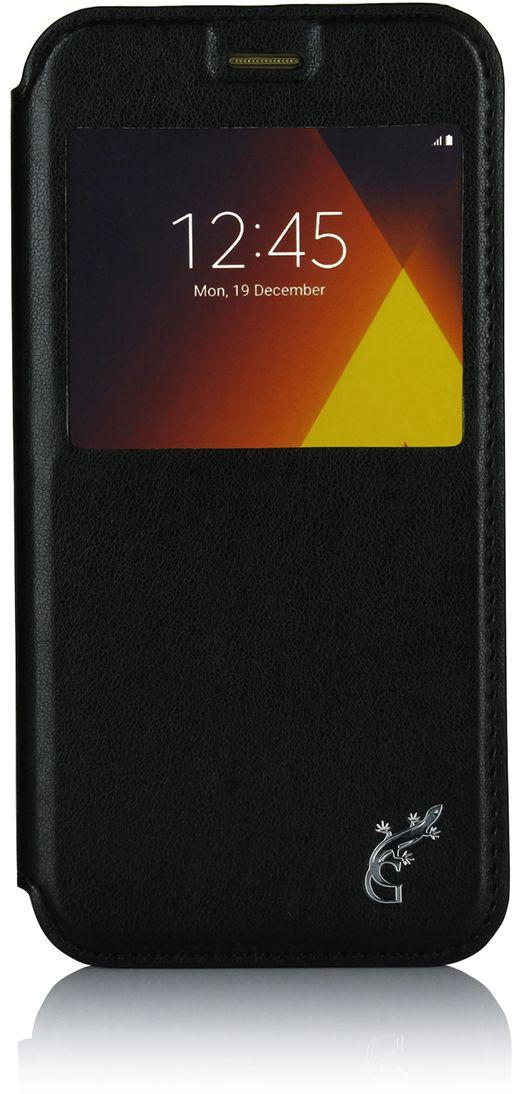 Чехол G-Case Slim Premium для Samsung Galaxy A5 (2017) SM-A520F черный аксессуар чехол для samsung galaxy a5 2017 a520f gecko book gold g book sama5 2017 gold