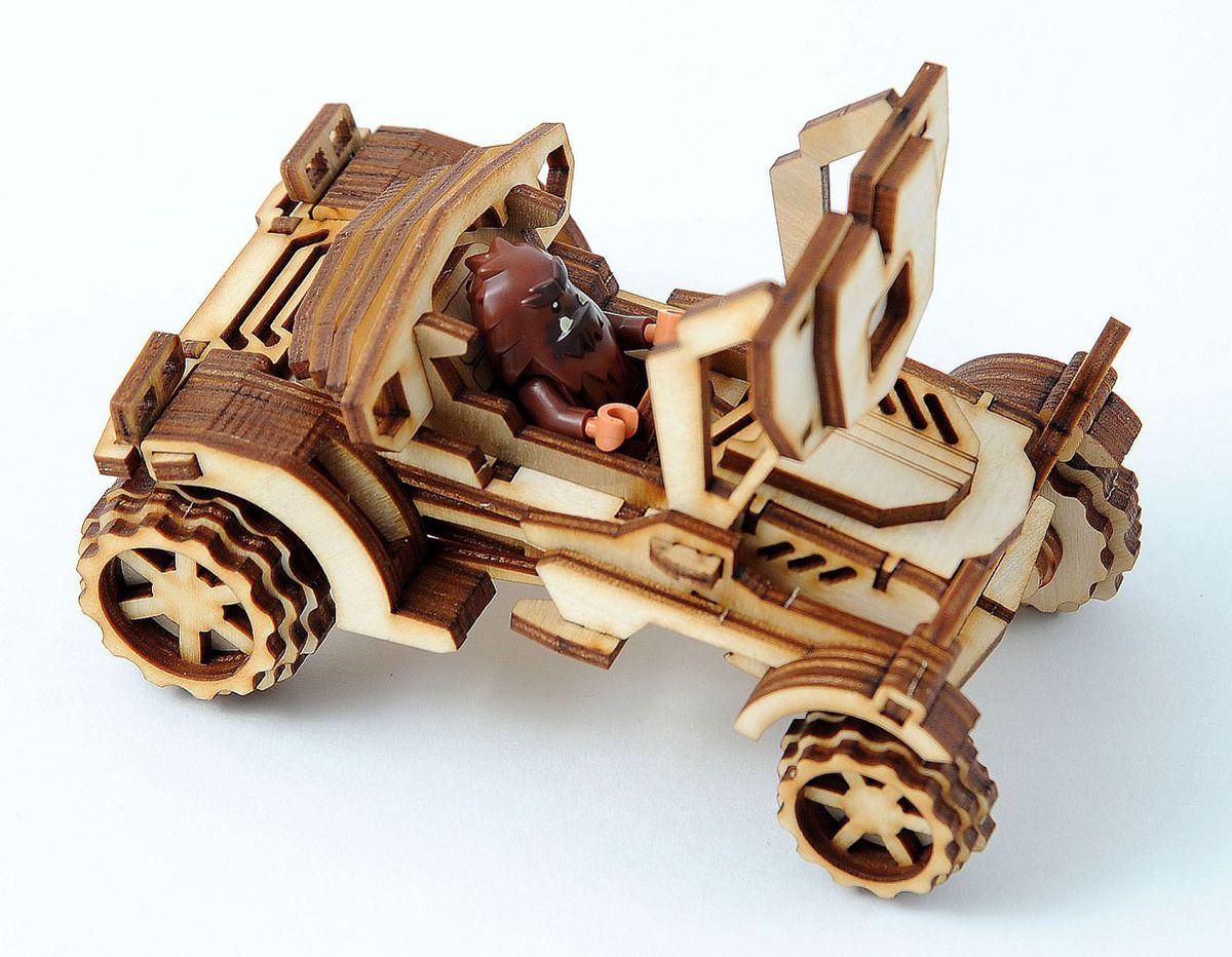 Фото - Деревянная модель Lemmo 00-54 конструктор lemmo внедорожник скорпион 74эл
