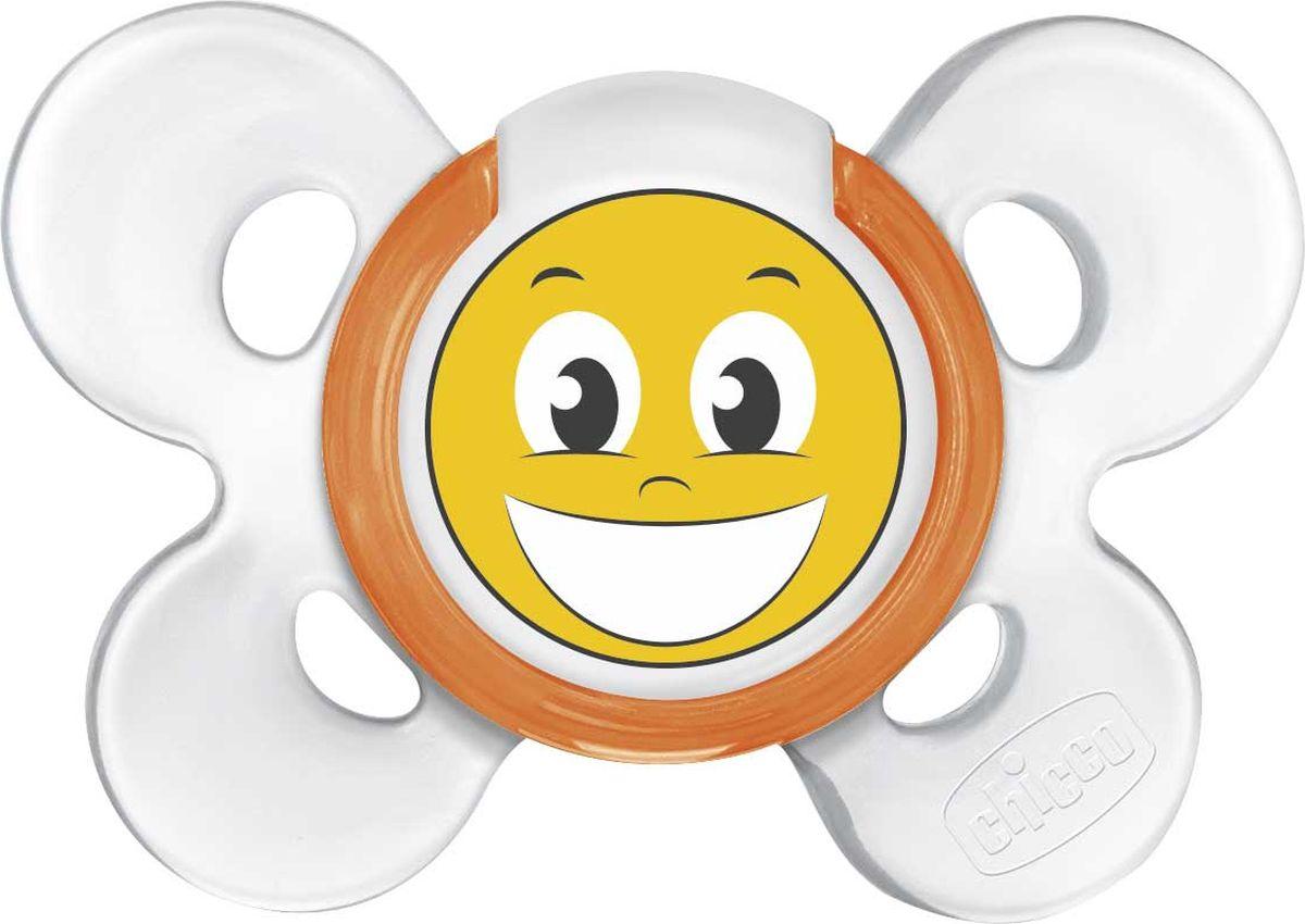 Chicco Пустышка Physio Comfort Smile от 12 месяцев