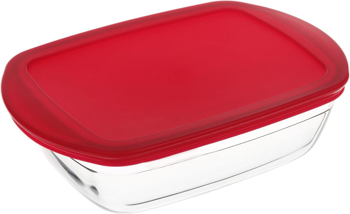 Форма для запекания Pyrex O Cuisine, прямоугольная, с крышкой, 23 х 15 см кастрюля pyrex o cuisine 3 л с крышкой