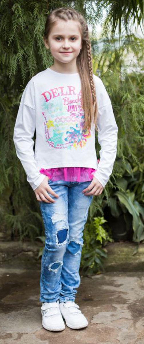 Лонгслив Luminoso luminoso брюки для девочки luminoso