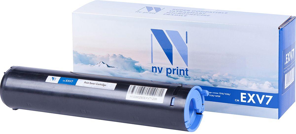 NV Print CEXV7, Black тонер-туба для Canon IR-1200/1210/1230/1270/1330/1510