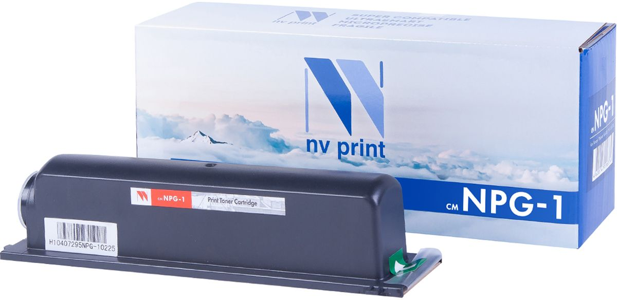 NV Print NPG1, Black тонер-туба для Canon NP1015/1215/1215S/1218/1318/1510/1520/1530/1550/2010/2020/6020/6116/6216/6220/6317/6320/6416