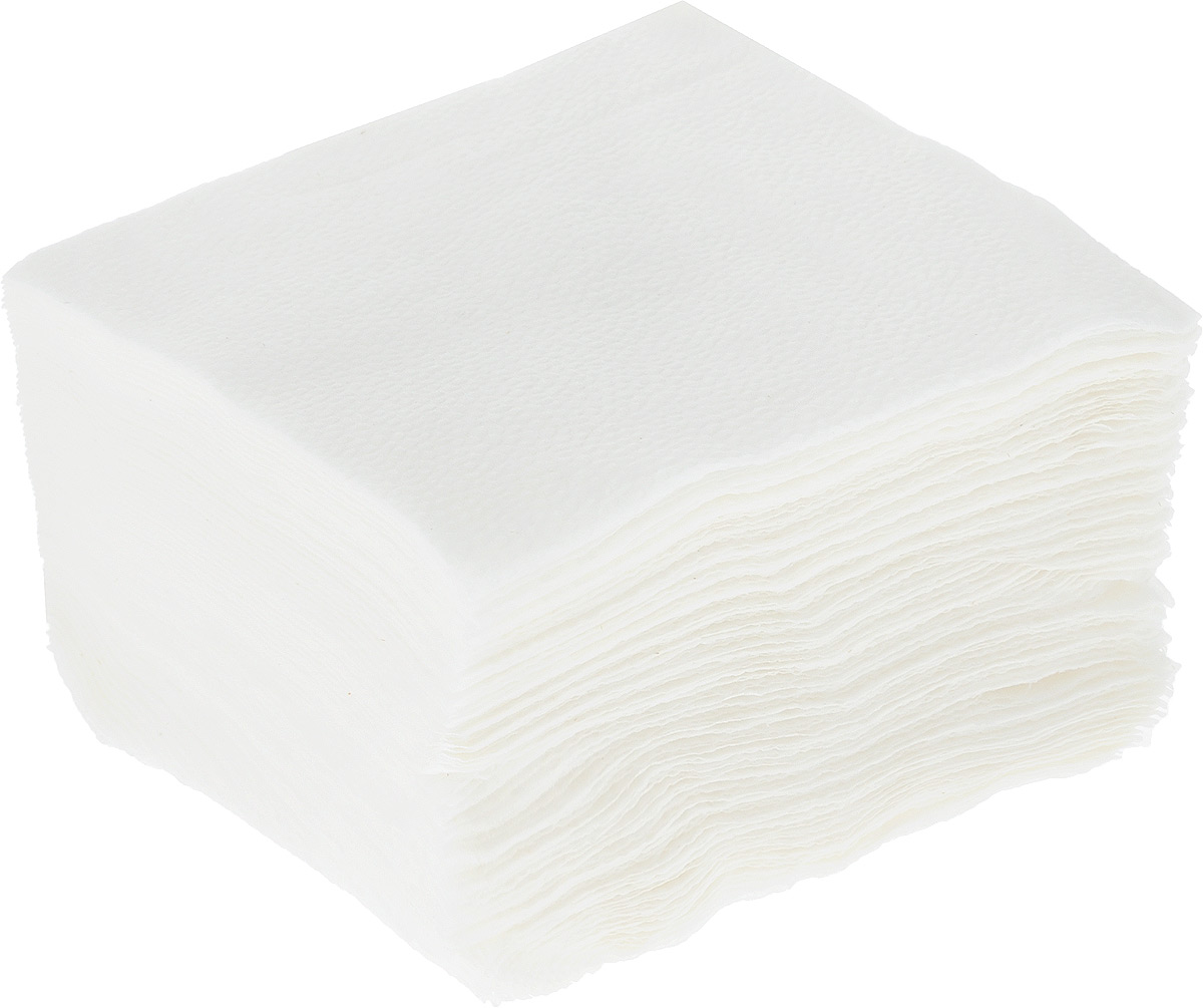Салфетки бумажные ЦБК-5, цвет: белый, 24 х 24 см, 75 шт paperproducts design салфетки ginza black бумажные 16 5х16 5 см 20 шт 1332162 paperproducts design