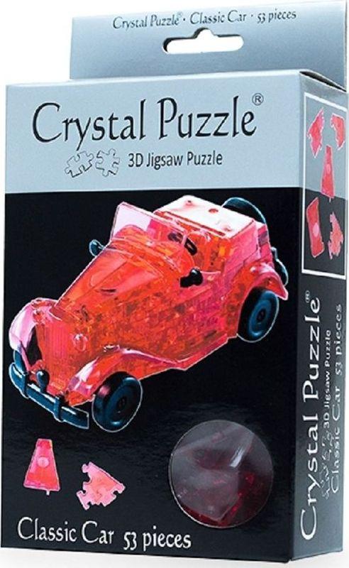 цена на Crystal Puzzle 3D головоломка Автомобиль цвет красный