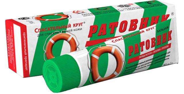Спасательный круг Бальзам Ратовник, 30 г спасательный круг бальзам для пяток с календулой пантенолом витамином а 50 г