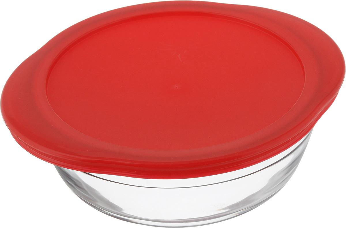 Форма для запекания Pyrex O Cuisine, круглая, с крышкой, 20 х 18 см кастрюля pyrex o cuisine 3 л с крышкой