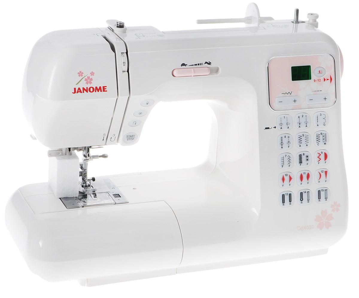 Швейная машина Janome DC4030, White