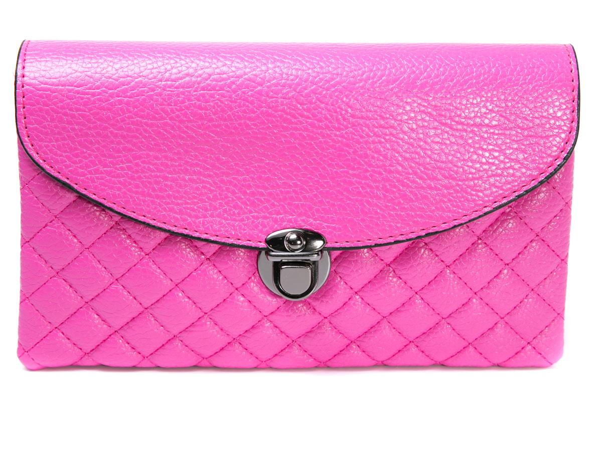 Клатч женский Mitya Veselkov, цвет: розовый. LADYBAG5-01 цена и фото