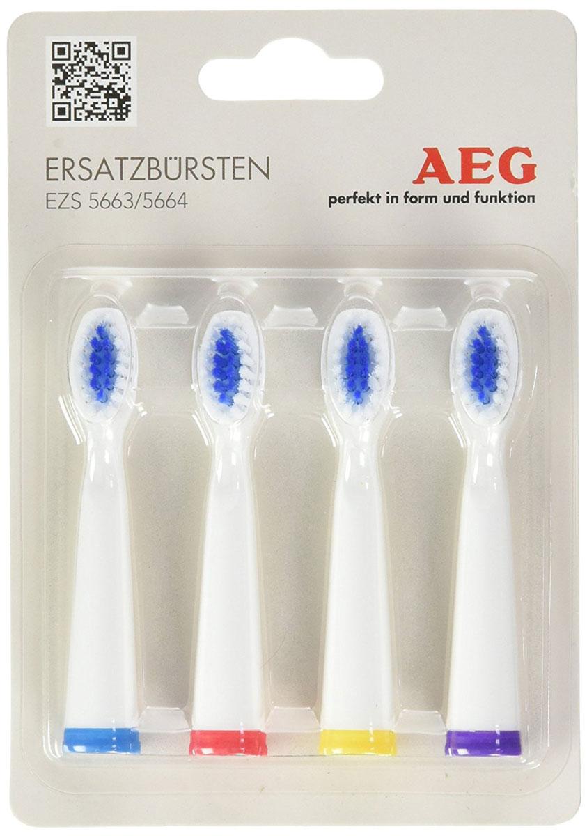 AEG EZS 5663/5664 запасные щетки для зубного центра AEG недорого