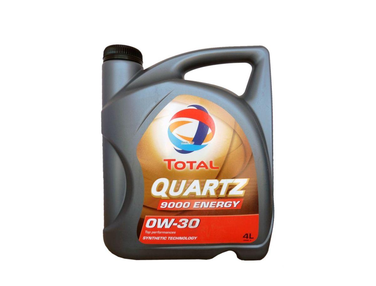 """Моторное масло Total """"Quartz 9000 Energy 0W30"""", 4 л"""