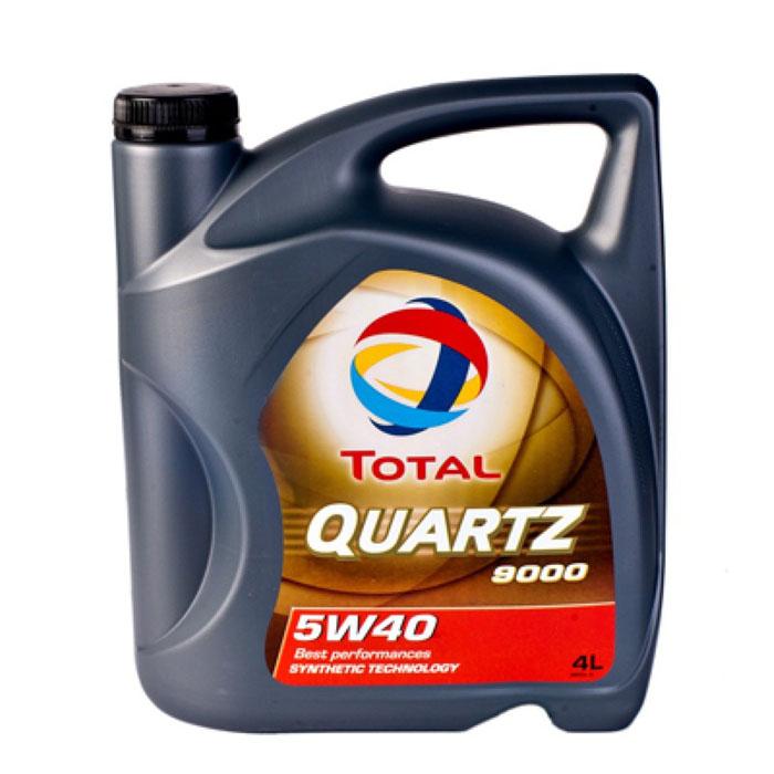 "Моторное масло Total ""Quartz 9000 5w40"", 4 л"