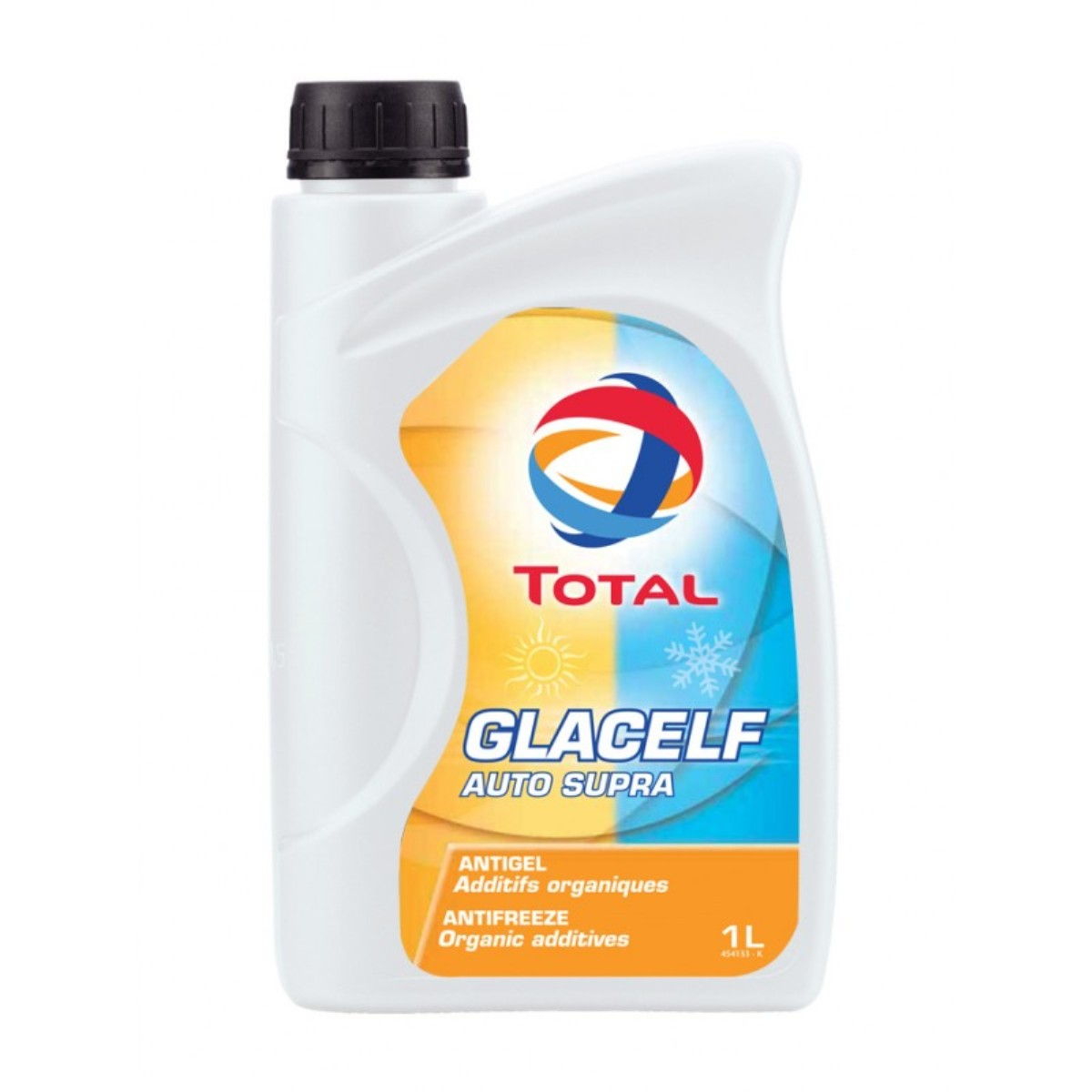 цена на Антифриз Total Glacelf Auto Supra -38, цвет: оранжевый, 1 л