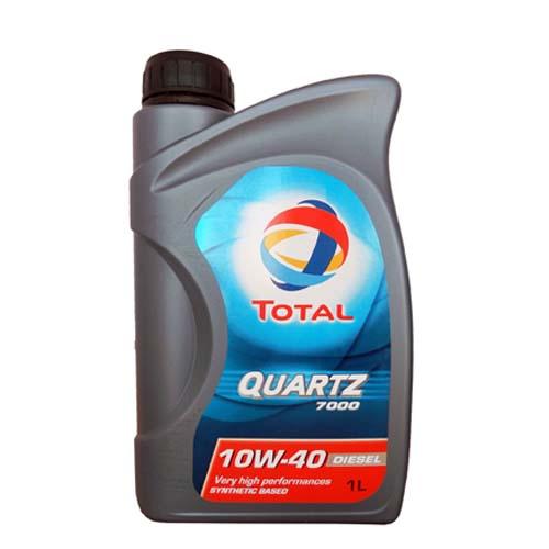 """Моторное масло Total """"Quartz Diesel 7000 10W40"""", 1 л"""