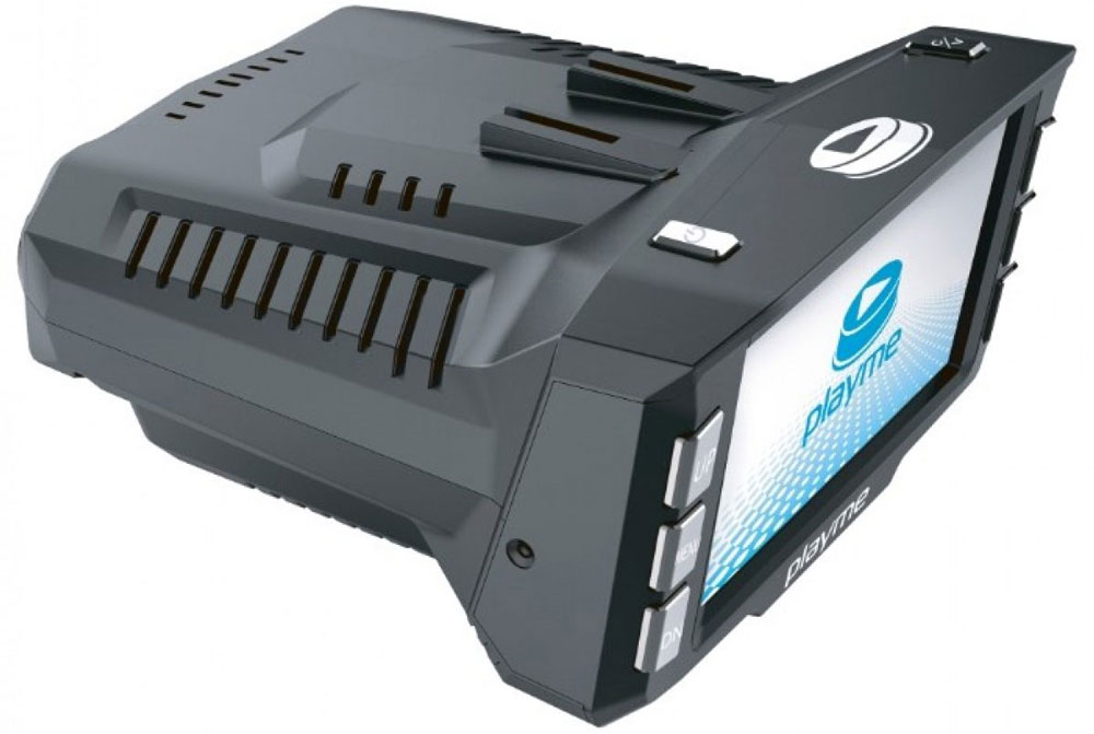 PlayMe P200 Tetra видеорегистратор с радар-детектором видеорегистратор с радар детектором playme p200 tetra