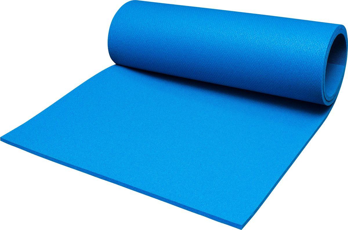 Коврик туристический Пенолон, цвет: синий, 180 х 60 х 1 см коврик туристический фольгированный цвет желтый 180 х 60 х 1 см