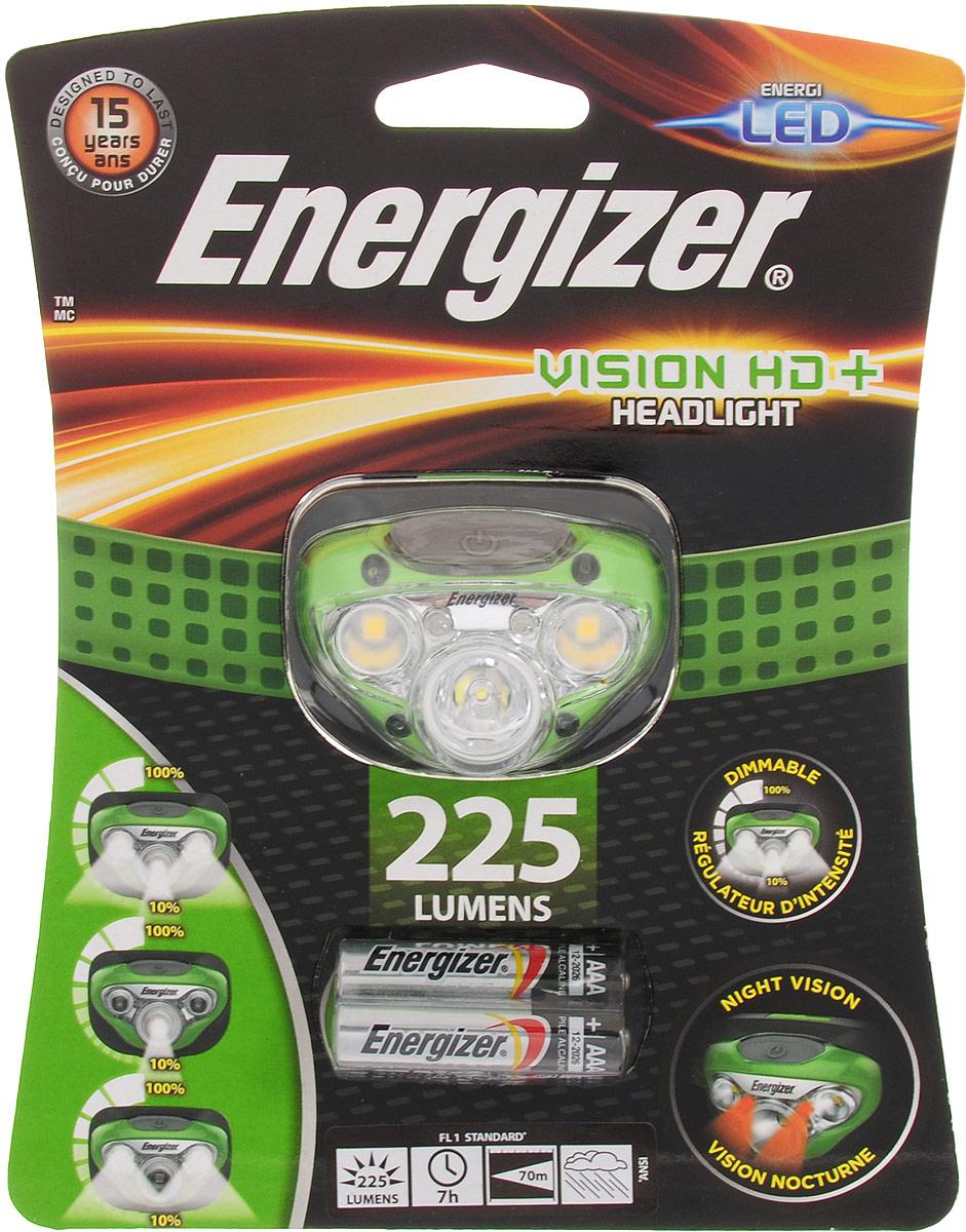 Фонарь налобный ENERGIZER Vision HD, светодиодный. E300280600