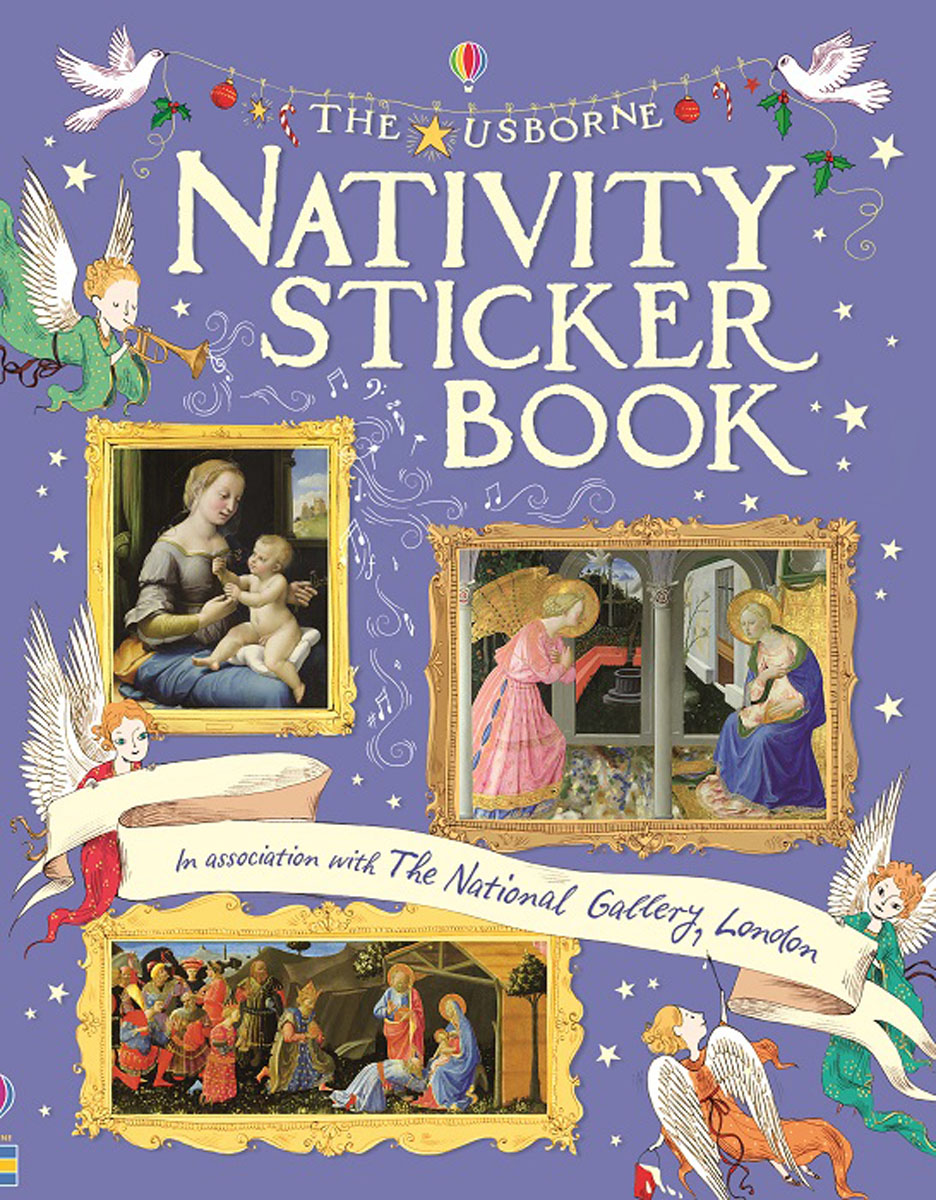 Nativity Sticker Book (Sticker Books) my43 xdzs 146 147 fashionable flower print art ready to hang paintings 2pcs