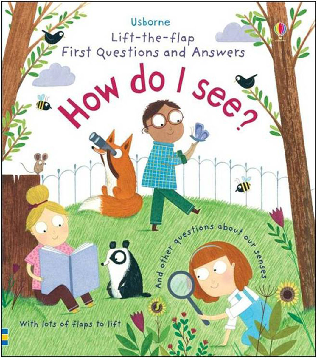 Lift-the-Flap First Questions & Answers: How do I see? games [a2 b1] questions and answers