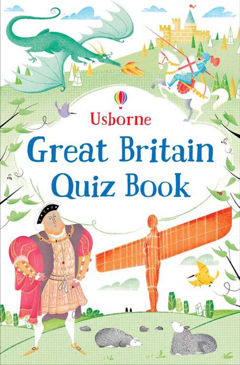 Great Britain Quiz Book door quiz