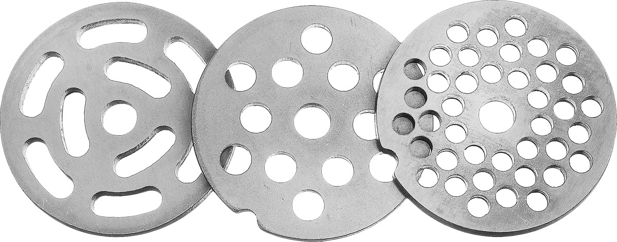 купить Аксион 21332630 комплект решеток для мясорубки, 3 шт онлайн