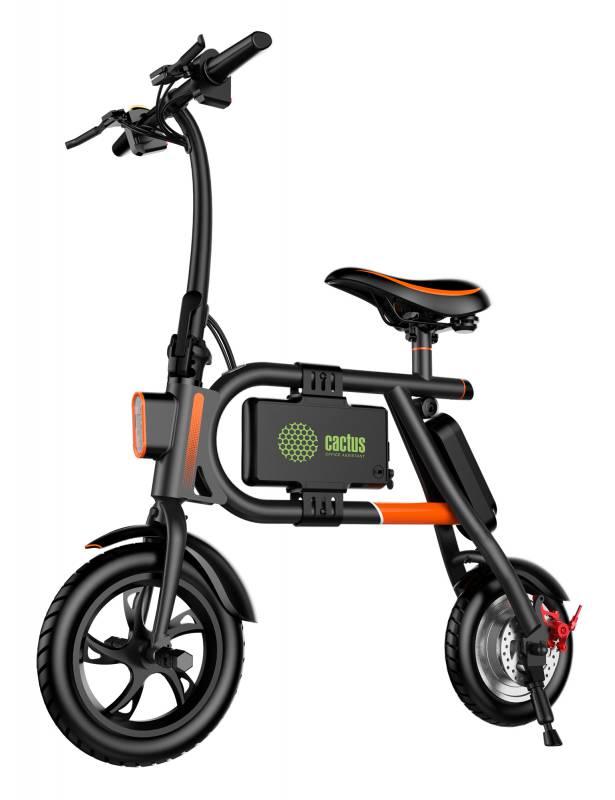 Электробайк Cactus CS-EBIKE-P1_BK 4400mAh, цвет: черныйCS-EBIKE-P1_BKЭлектробайк от Cactus - это складное инновационное средство передвижения с мощным мотором и стильным внешним видом. Компактный и удобный вид персонального электротранспорта. Особенности: Уровень влагозащиты: IP54. Сигнальная подсветкаесть. Встроенные ходовые огни LED-лампы и стоп-сигнал.Надежная батарея LG. USB-порт. Мобильное приложение для платформ Android, IOS. Емкость батареи4400 mAh. Время полного заряда120 мин. Максимальная нагрузка120 кг. Запас хода на одном заряде20 км. Диаметр переднего колеса12 . Диаметр заднего колеса10 . Рекомендуем!