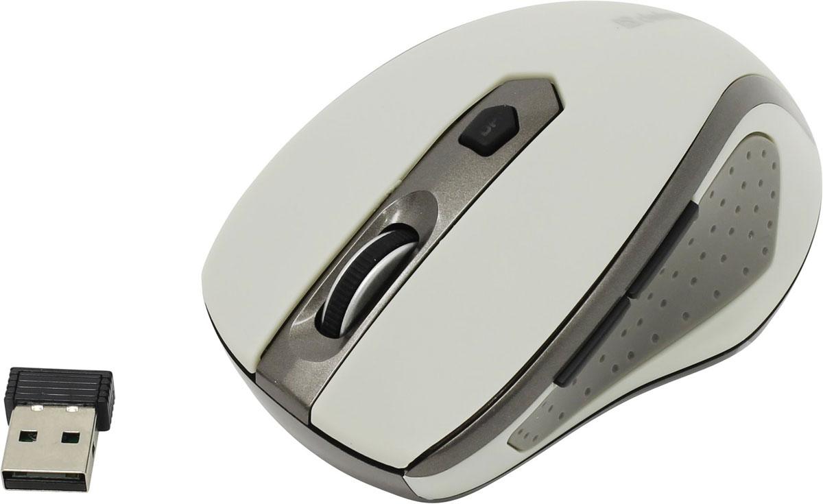 Мышь Defender Safari MM-675 Nano, Beige беспроводная