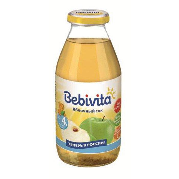 Bebivita Сок яблочный восстановленный осветленный с витамином С, с 4 месяцев, 200 г