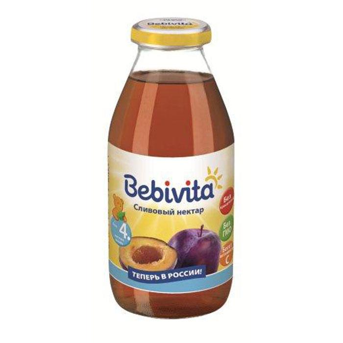 Bebivita Нектар сливовый с витамином С, с 4 месяцев, 200 г