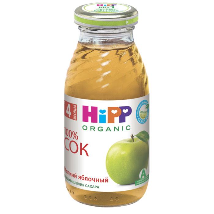 Hipp Сок мягкий яблочный, с 4 месяцев, 200 г