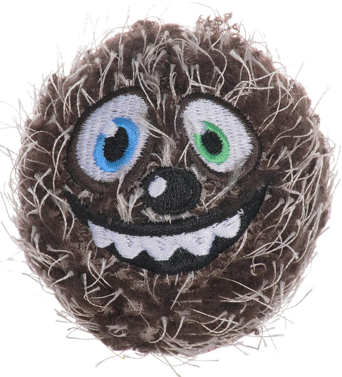 Игрушка для собак GiGwi Мяч, с пищалкой, диаметр 7 см. 75343 игрушка для собак gigwi мячи с пищалкой диаметр 8 см 3 шт