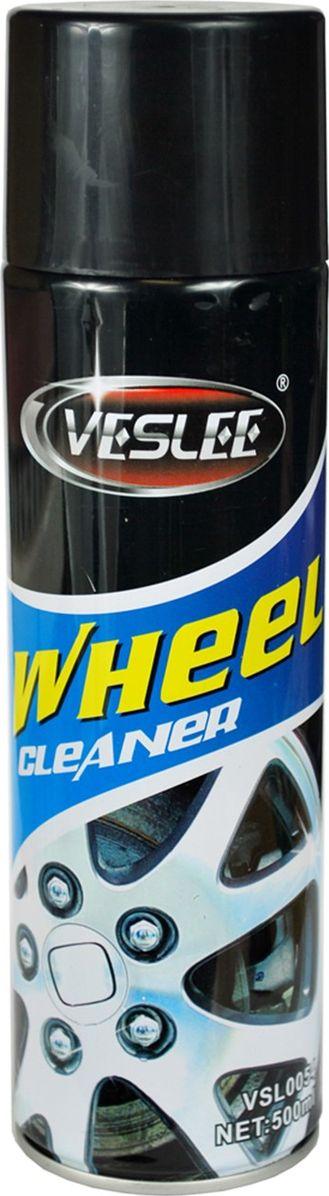 Очиститель для автомобильных дисков Veslee, аэрозоль, 500 мл очиститель битумных и масляных пятен fill inn аэрозоль 335 мл