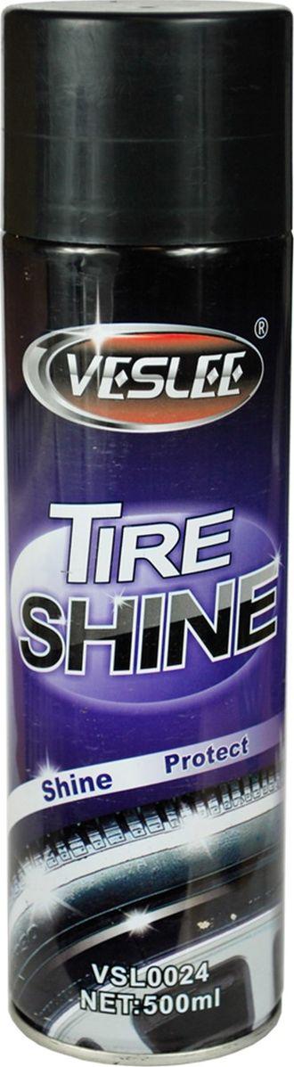 """Чернитель шин """"Veslee"""", аэрозоль, 500 мл"""