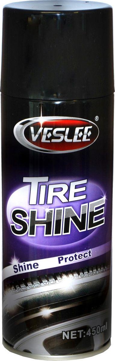 """Чернитель шин """"Veslee"""", аэрозоль, 450 мл"""