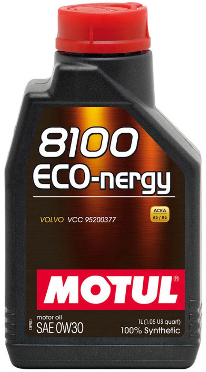 "Масло моторное Motul ""8100 Eco-Nergy"", синтетическое, 0W-30, 1 л"