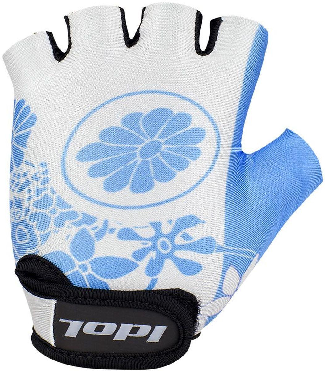 Перчатки велосипедные для девочки Idol Flossi. Размер 8-13 лет