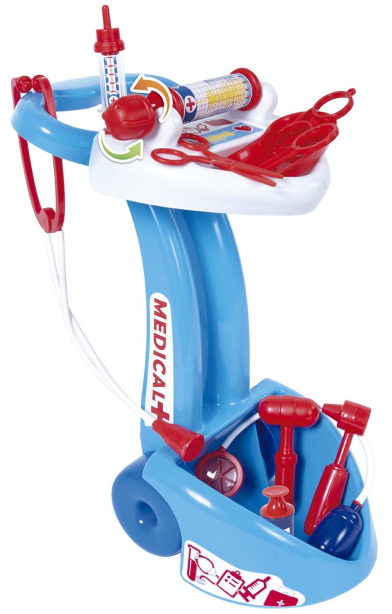 Palau Toys Игровой набор Доктор с тележкой игровой набор доктор на тележке в кор 4шт