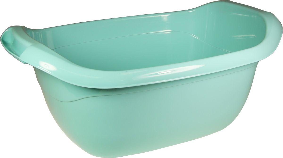 Таз овальный Idea, цвет: аквамарин, 10 л таз starplast овальный цвет зеленый 25 л