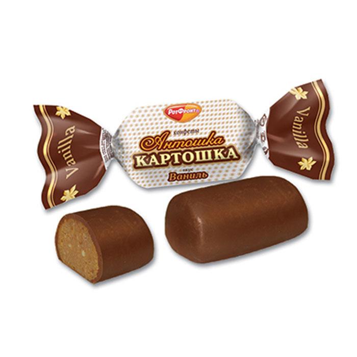 Фото - Рот Фронт Антошка картошка конфеты вкус ваниль, 250 г карамель рот фронт мечта 250 г