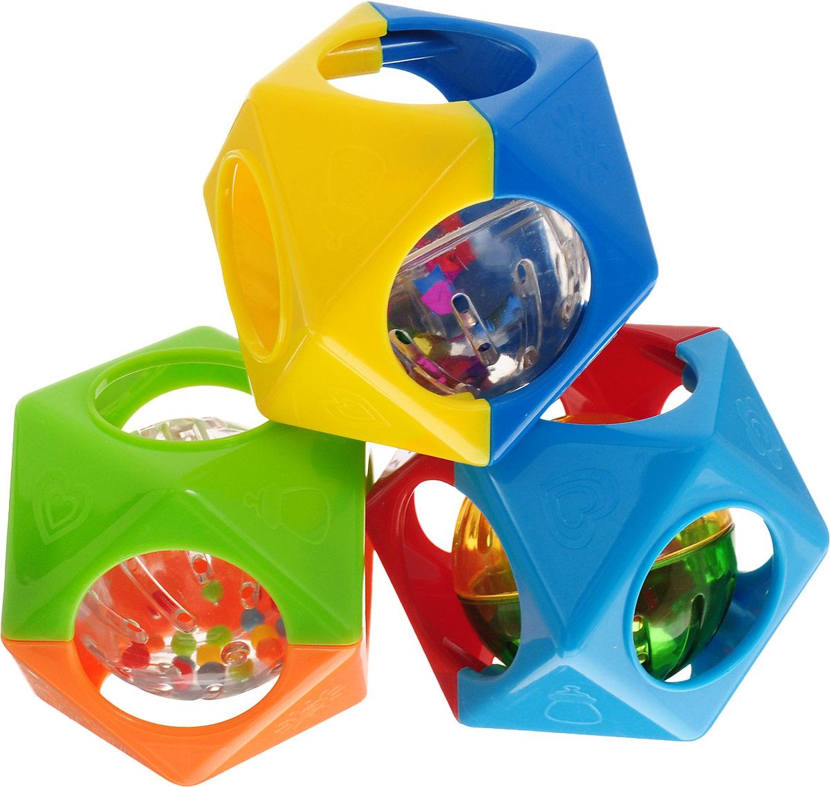 цена на Playgo Развивающая игрушка Шар в многограннике
