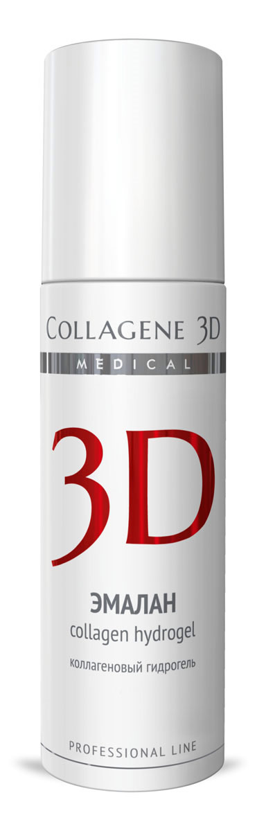 Medical Collagene 3DГель для лица профессиональный Эмалан коллагеновый гидрогель, 130 мл Medical Collagene 3D